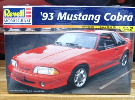 Revell 1/24 93 Mustang Cobra (RMX2530)