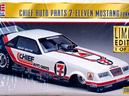 Revell 1/24 Billy Meyer's Chief Auto Parts 7-Eleven Mustang Funny Car (RMX4116)