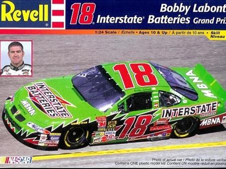 Revell 1/24 Bobby Labonte Interstate Batteries Pontiac Grand Prix Nascar