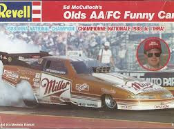 Revell 1/24 Ed McCullochs Miller Olds Funny Car