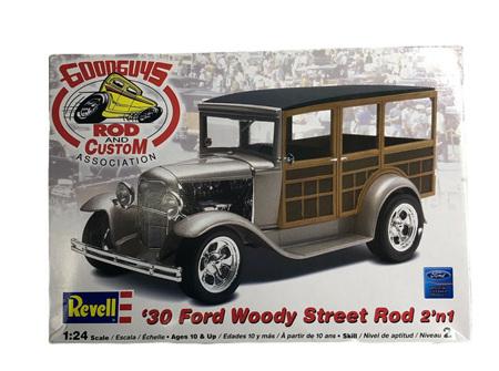 Revell 1/24 Good Guys 30 Ford Woody Street Rod 2n1 (RMX2064)