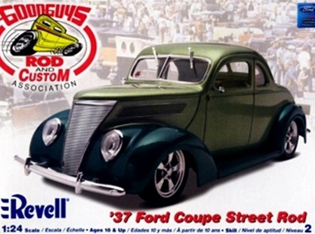 Revell 1/24 'Good Guys' 37 Ford Coupe Street Rod