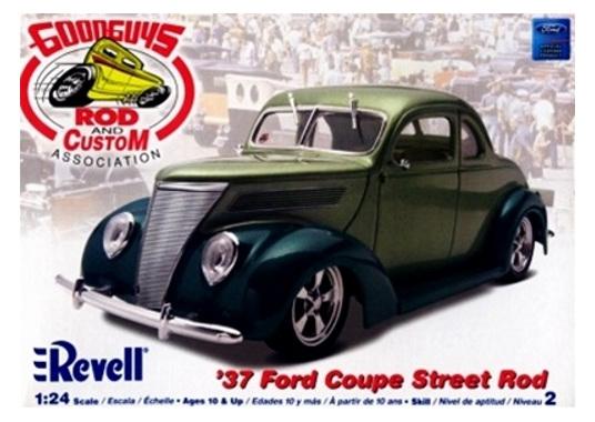 Revell 1 24 Good Guys 37 Ford Coupe Street Rod Rick S Model Kits
