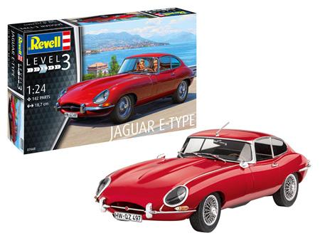Revell 1/24 Jaguar E-Type (Coupé) (RVL7668)