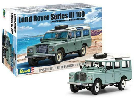 Revell 1/24 Land Rover Series III (RMX4498)