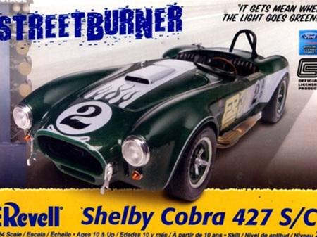 Revell 1/24 Shelby Cobra 427 S/C (RMX2828)
