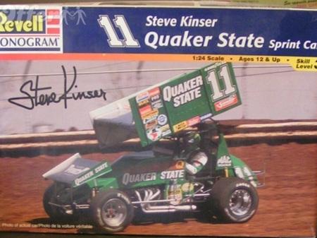 Revell 1/24 Steve Kinser Quaker State Sprint Car