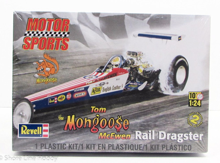 Revell 1/24 Tom 'Mongoose' McEwen Rail Dragster (RMX4908)
