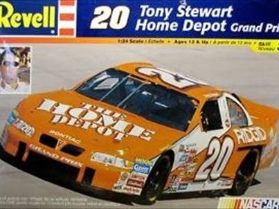 Revell 1/24 Tony Stewart Home Depot Nascar