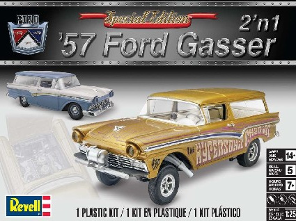 Revell 1/25 1957 Ford Gasser Drag Car (RMX4396)