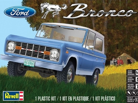 Revell 1/25 1966-68 Ford Bronco