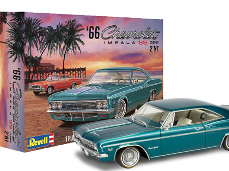 Revell 1/25 1966 Chevy Impala SS 396 (2 'n 1)