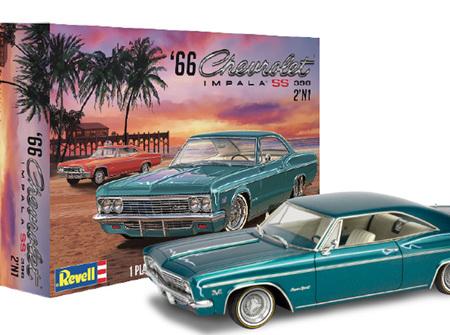 Revell 1/25 1966 Chevy Impala SS 396 2 'n 1 (RMX4497)