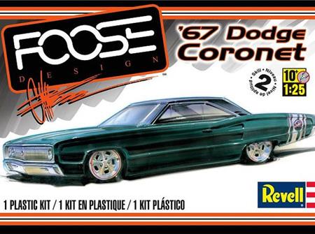 Revell 1/25 1967 Dodge Coronet - Foose Design (RMX4906)