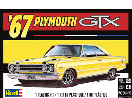 Revell 1/25 1967 Plymouth GTX (RMX4481)