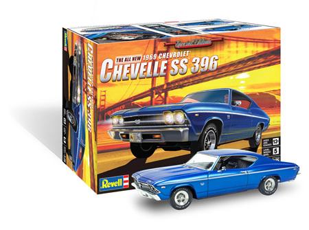 Revell 1/25 1969 Chevelle SS 396 (RMX4492)