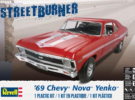 Revell 1/25 1969 Chevy Nova Yenko (RMX4423)
