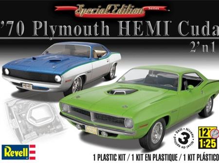 Revell 1/25 1970 Plymouth Hemi Cuda (RMX4268)
