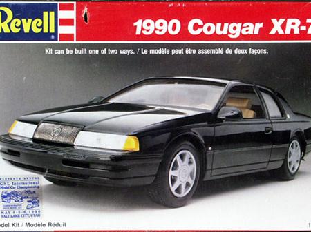 Revell 1/25 1990 Cougar XR-7
