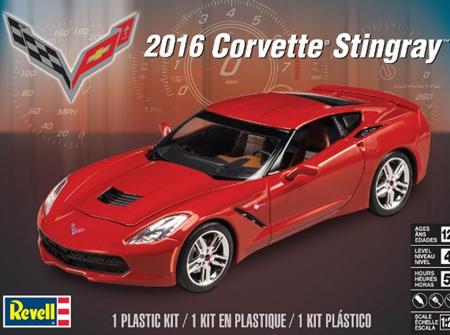 Revell 1/25 2016 Corvette Stingray