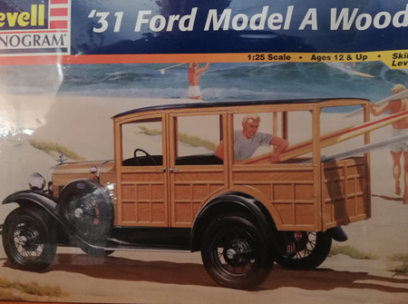 Revell 1/25 31 Ford Model A Woody (RMX7637)
