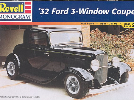 Revell 1/25 32 Ford 3 Window Coupe (RMX7605)