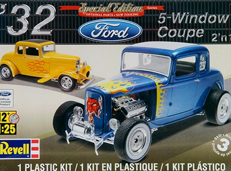 Revell 1/25 '32 Ford 5 Window Coupe (RMX4228)