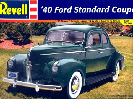 Revell 1/25 40 Ford Standard Coupe (RMX2387)