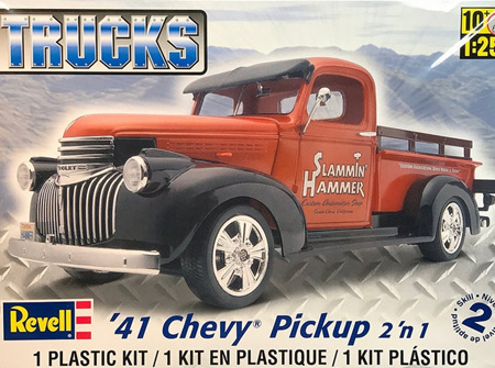 Revell 1/25 '41 Chevy® Pickup 2 'n 1