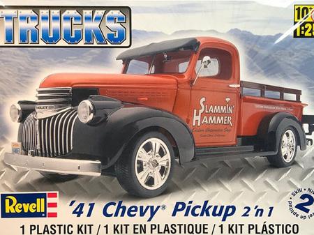 Revell  1/25 '41 Chevy® Pickup 2 'n 1
