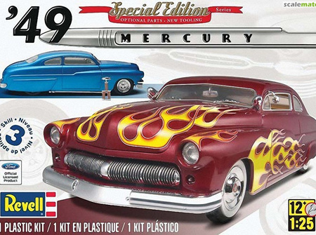 Revell 1/25 '49 Mercury Custom Coupe (RMX2860)