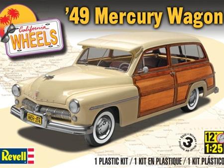 Revell 1/25 '49 Mercury Wagon
