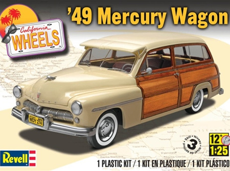 Revell 1/25 '49 Mercury Wagon (RMX4996)