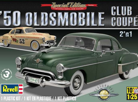 Revell 1/25 50 Oldsmobile Club Coupe 2n1 (RMX4254)