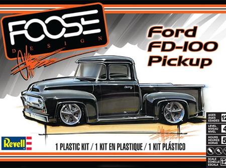 Revell 1/25 56 Ford FD-100 Pickup 'Foose Design' (RMX4426)