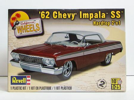 Revell 1/25 62 Chevy Impala SS Hardtop 2n1 (RMX4281)