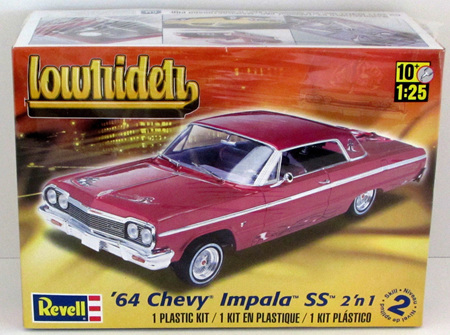 Revell 1/25 64 Chevy Impala SS 2n1 Lowrider