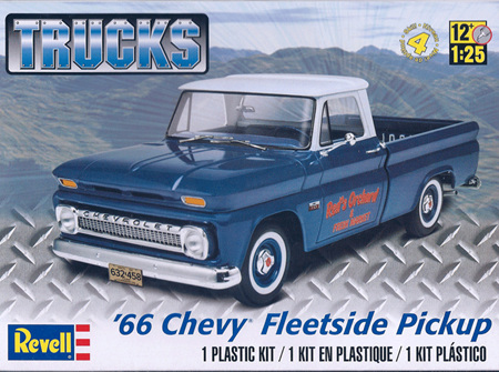 Revell 1/25 '66 Chevy Fleetside (RMX7225)