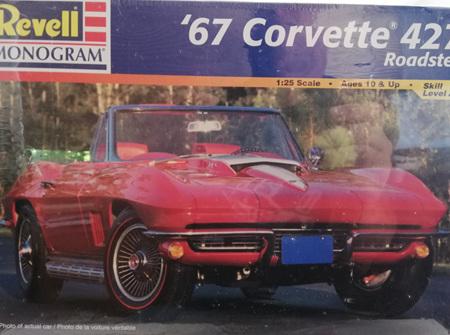 Revell 1/25 67 Corvette 427 Roadster (RMX2968)