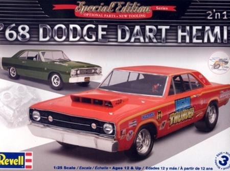 Revell 1/25 '68 Dodge Hemi Dart 2 'n 1 (RMX4217)