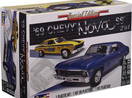 Revell 1/25 69 Chevy Nova SS 2n1 (RMX2098)
