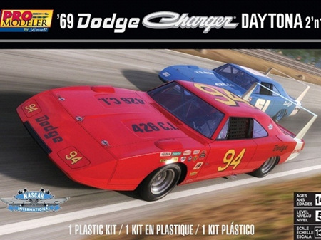 Revell 1/25 69 Dodge Charger Daytona
