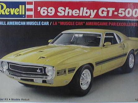 Revell 1/25 69 Shelby GT-500