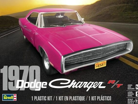 Revell 1/25 70 Dodge Charger R/T