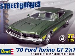 Revell 1/25 '70 Ford Torino GT 2 'n 1 Plastic Model Kit