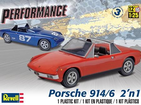 Revell 1/25 '72 Porsche 914-6 2n1