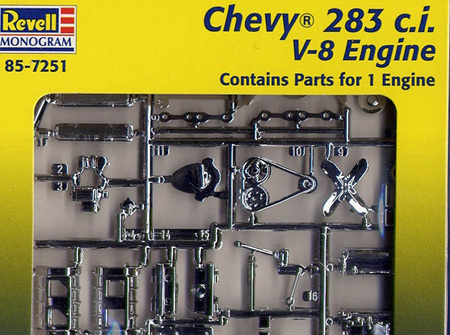 Revell 1/25 Chevy 283ci V8 Engine (RMX7251)