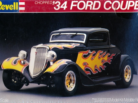 Revell 1/25 Chopped 34 Ford Coupe (RMX7239)