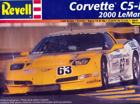 Revell 1/25 Corvette C5-R 2000 Le Mans (RMX2354)