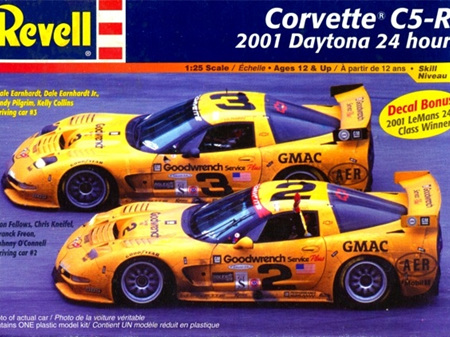 Revell 1/25 Corvette C5-R 2001 Daytona 24 Winner (RMX2376 - Open)